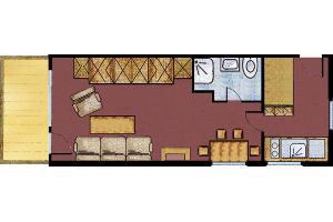 Großes Appartement Grundriss